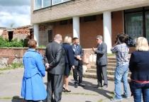 Чудовский район с рабочим визитом посетил вице-губернатор Юрий Маланин
