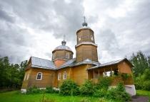 «53 новгородских храма»: церковь Рождества Божией Матери (Волот)