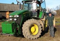 В Хвойнинском районе увеличился урожай зерна