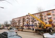 В Великом Новгороде за год отремонтирован один остановочный «карман» из 66