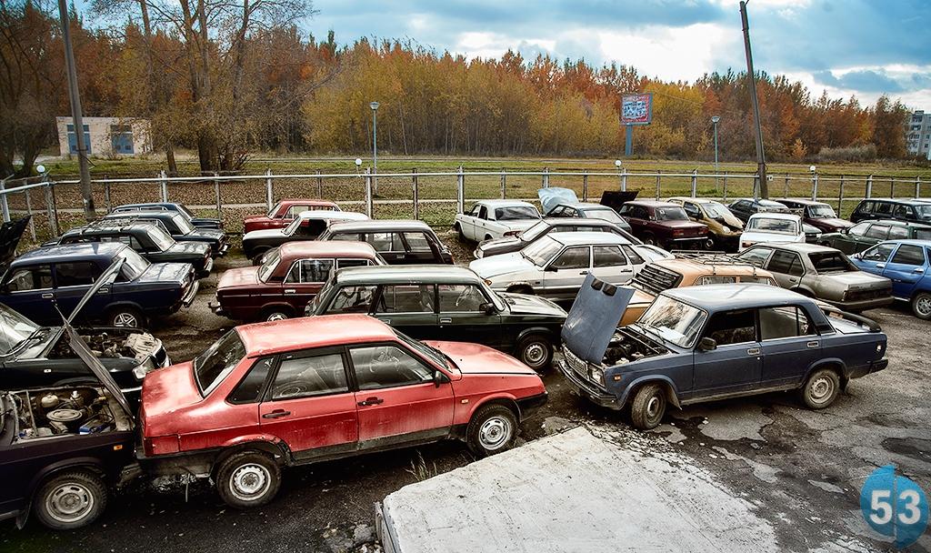фото утилизаций автомобилей #3