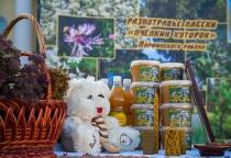 На новгородской ярмарке мёда торговали диетической орехово-медовой пастой