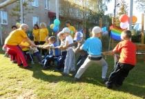 В детском саду в Поддорье состоялся спортивный праздник