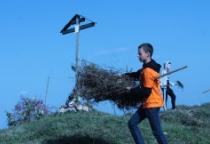 В Шимском и Солецком районах прошел поход, посвящённый Первой Мировой войне