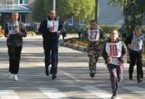 В Хвойной состоялся легкоатлетический забег