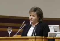 Елена Писарева приняла участие в заседании Совета законодателей
