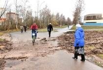 Сергей Митин: «Бульвар Юности напоминает тропинку среди грязи»