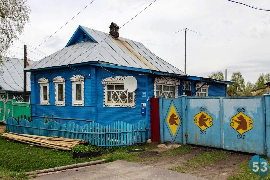 Каждый второй дом в Устюжне — произведение искусства