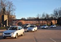 Фото: в Великом Новгороде полицейским вручили ключи от служебных автомобилей
