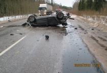 В Великом Новгороде в ДТП погиб пассажир иномарки