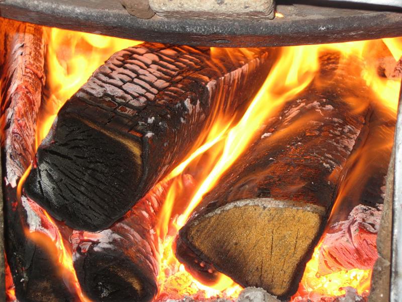 В Парфинском районе произошел нестандартный пожар