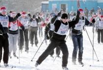 В Великом Новгороде состоялись соревнования по лыжным гонкам