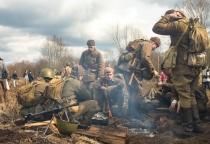 Фоторепортаж: «Забытый подвиг» – реконструкция боёв Второй Ударной Армии в Новгородской области