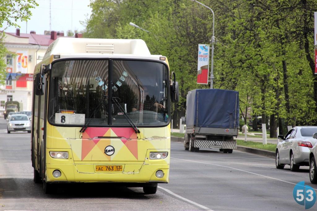 С 9 по 11 июня в Новгороде изменится схема движения автобусов