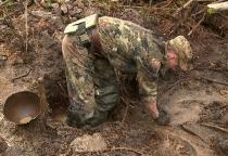 В рамках Вахты памяти в Новгородском районе подняты останки 157 бойцов Красной армии