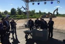 Сергей Митин принял участие в церемонии закладки памятной капсулы на участке автодороги М-11