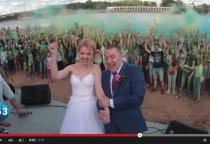 «53 секунды»: фестиваль красок Holi в Великом Новгороде