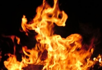 В Поддорском районе сгорел дом