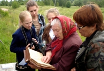 Экспедиция этнологической лаборатории НовГУ вернулась из Пестовского района