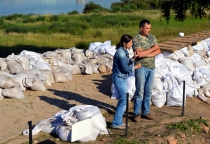 Телекомпания «Мир» снимает документальный фильм о Волжском пути на Новгородской земле