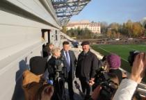 Фоторепортаж: как идут работы по стадиону «Центральный»