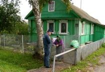 Сотрудники МЧС проверили безопасность  печей в  новгородском частном секторе