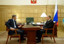 Сергей Митин и Александр Ткачев обсудили инвестиционые программы Новгородской области в АПК