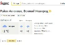 «Яндекс» научился предсказывать погоду в Новгородской области