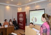 В новгородском филиале РАНХиГС обсудили проекты студентов