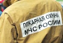 В Любытинском районе сгорел дом
