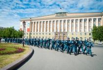 Фоторепортаж: новгородские полицейские отправились в командировку на Северный Кавказ