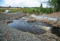 В конце июля откроется центр гребного слалома в Окуловке