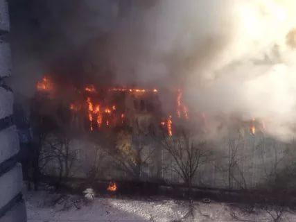 В Окуловке отец с сыном погибли при пожаре в котельной