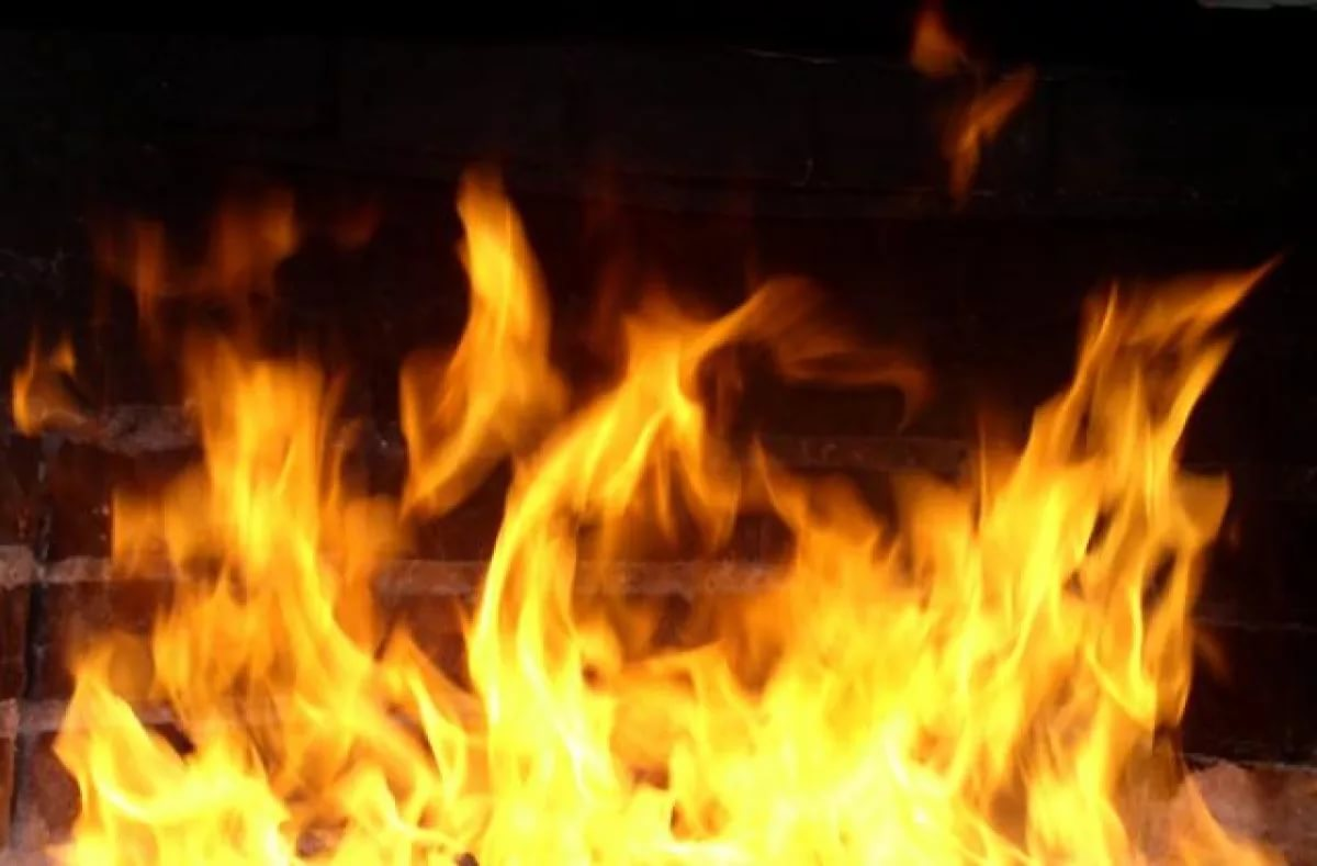 Пожар уничтожил дом в маловишерском Пожарье
