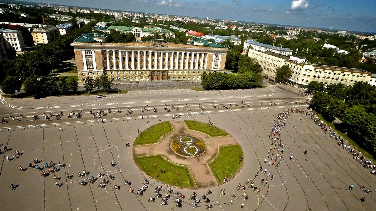 Первый Новгородский велопарад в фотографиях участников