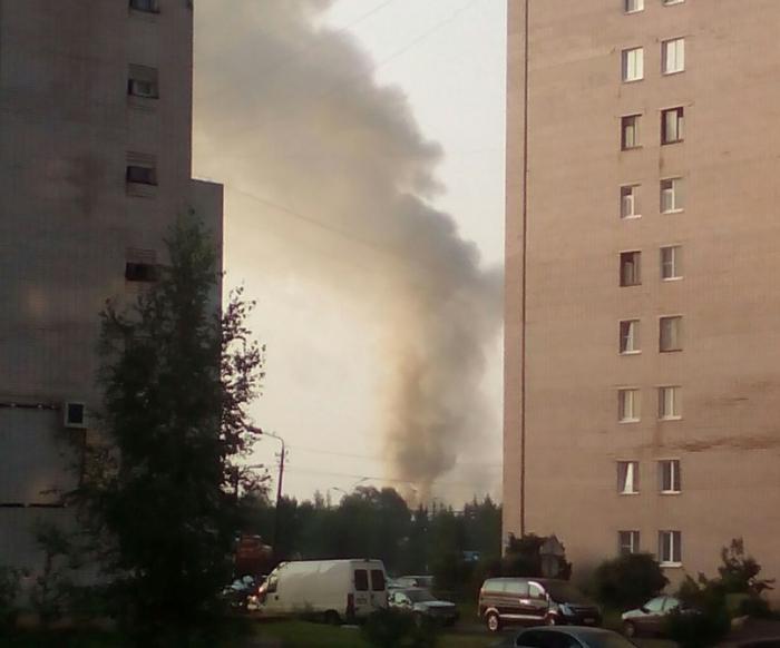 В «Новгородском дровяннике» горел мебельный цех со станками и пиломатериалами