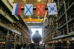 На подводной лодке «Великий Новгород» поднимут Андреевский флаг