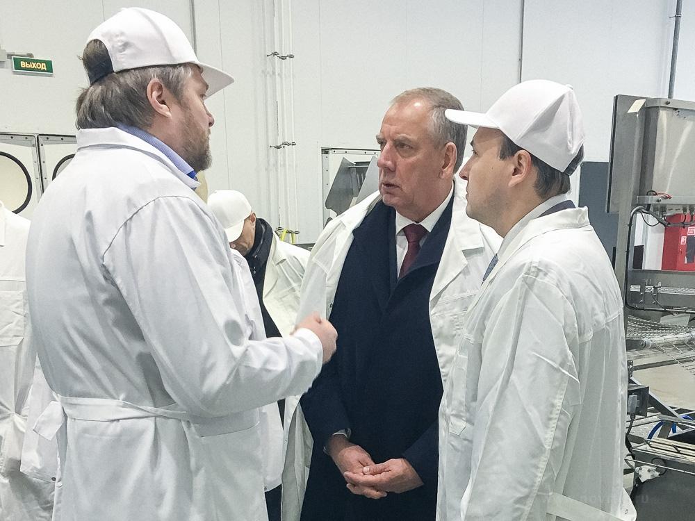 Сергей Митин посетил три новгородские производственные площадки