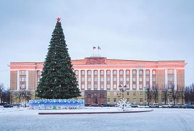 Сергей Митин поздравил жителей Новгородской области с наступающим Новым годом