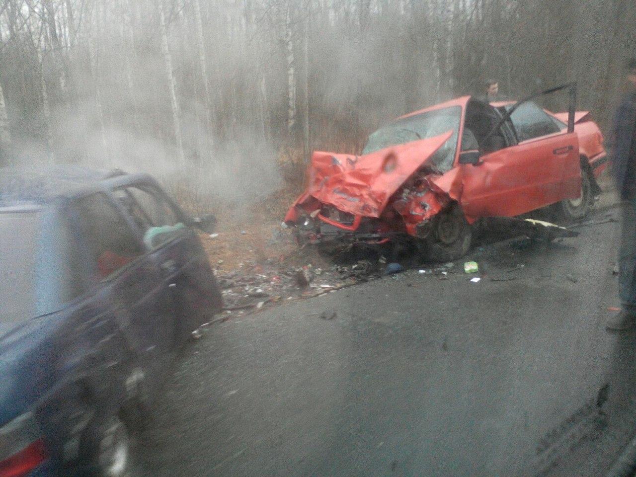 В ДТП в Маловишерском районе погибли два человека