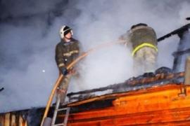 В дачном доме в Малой Вишере сгорел 67-летний мужчина