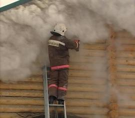 За выходные в Новгородской области сгорело четыре бани