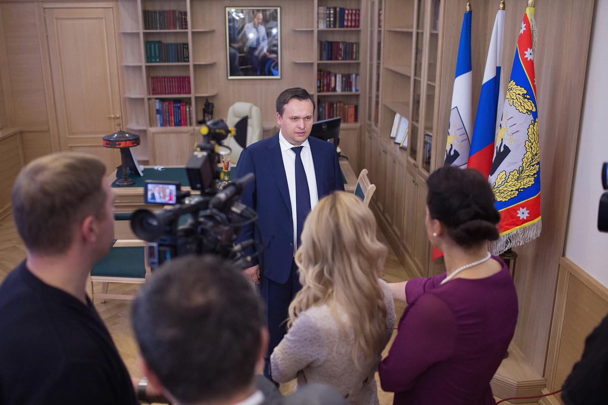 Определена дата проведения первой пресс-конференции губернатора Андрея Никитина