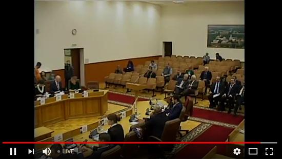 Видеотрансляция заседания Думы Великого Новгорода
