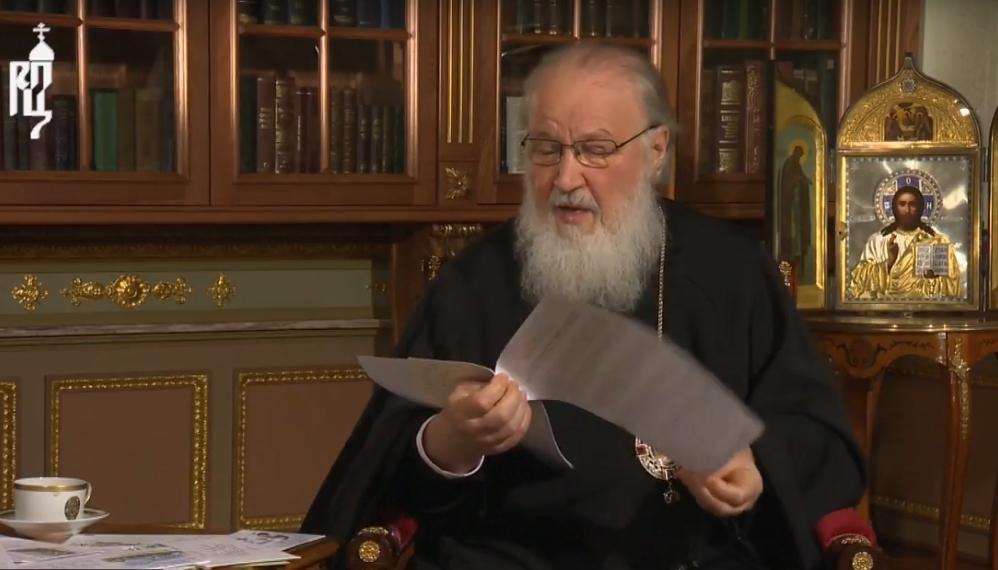 Патриарх Кирилл ответил на вопрос жительницы Малой Вишеры о мистических корнях революции 1917 года