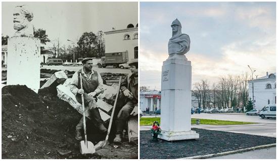 Было – стало:  кто встречал новгородцев и гостей города у железнодорожного вокзала