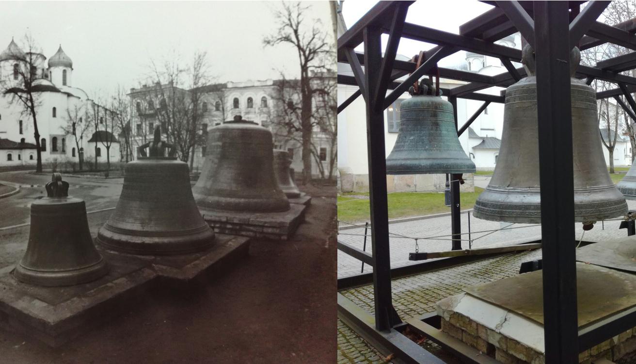 Было – стало: как колокола Софийской звонницы стали парить в воздухе