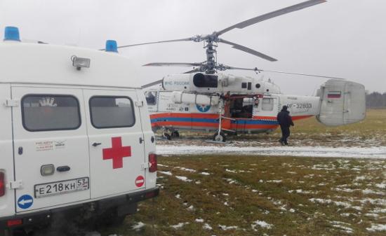В 2019 году медики Новгородской области смогут чаще вылетать на место ДТП