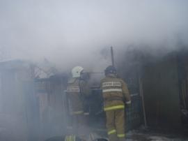 В Пестове произошел пожар в котельной