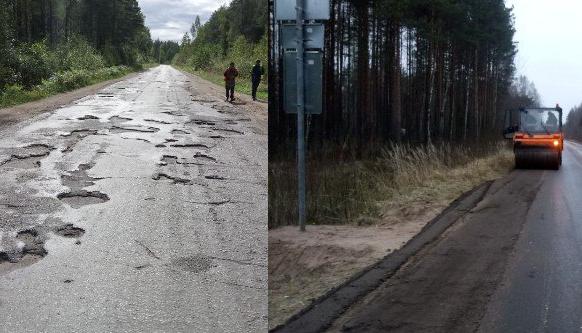 «Ремонт дорог 2017»: Подлитовье-Парфино-Старая Русса